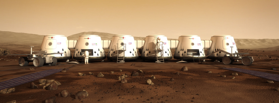 Mars One Concept from Mars-one.com