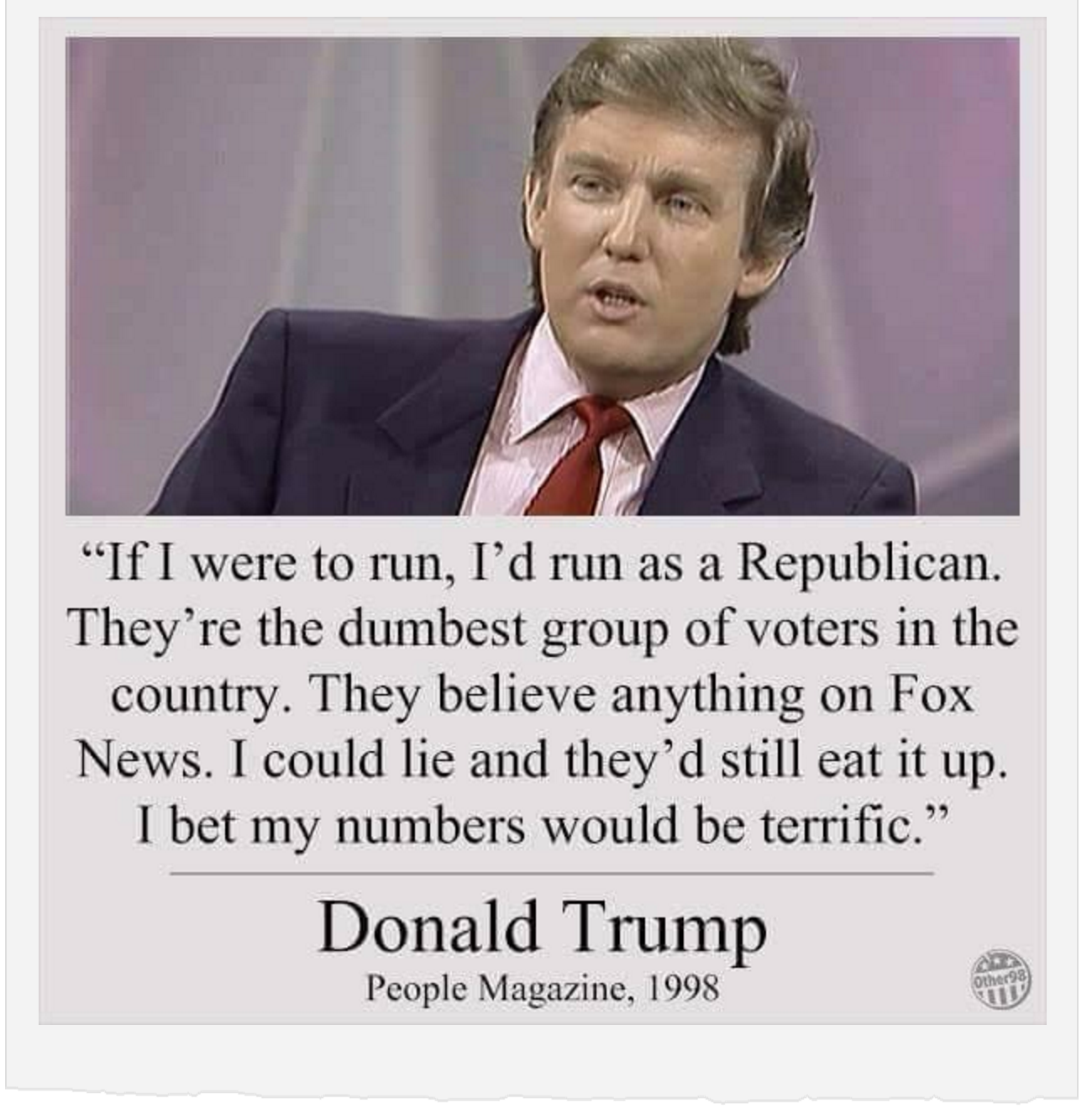 You Elected a Con Man, Trump Supporters, You've been Had.